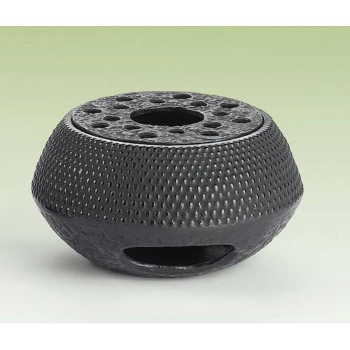 Litinový ohřívač - 10 / 14cm 'Arare' - černý